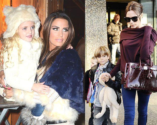 """Katie Price o Beckham: """"Jej dzieci WYCHOWUJĄ OBCY LUDZIE!"""""""