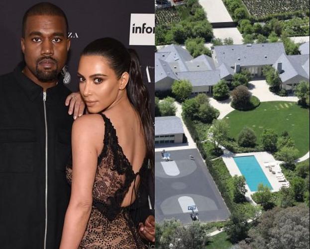 Kim Kardashian i Kanye West skończyli remont domu. Jest wart 60 MILIONÓW DOLARÓW!
