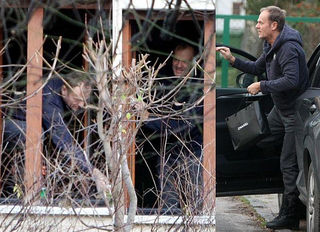 Donald Tusk myje okna w mieszkaniu w Sopocie... (ZDJĘCIA)