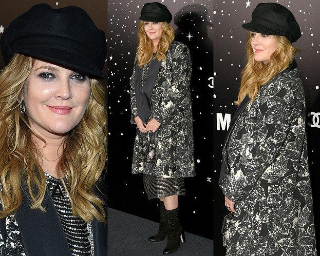 Drew Barrymore powraca w smętnej stylizacji od Chanel