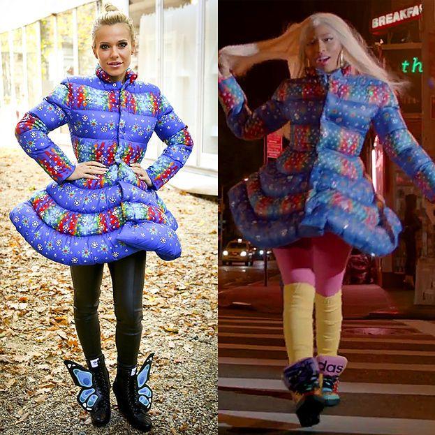 Doda i Nicki Minaj w identycznych kurtkach!
