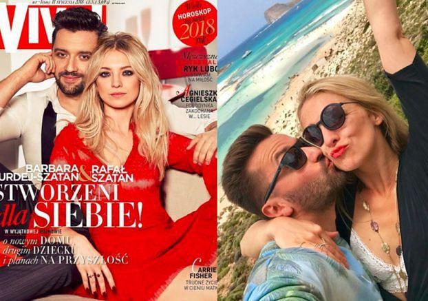 """Kurdej-Szatan ratuje związek okładkami? """"Mieli kryzys, więc postanowili udowodnić sobie miłość w mediach"""" (TYLKO U NAS)"""