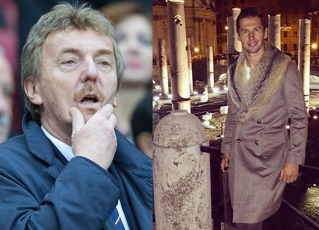 """Boniek wyśmiewa Krychowiaka: """"Męskich płaszczów nie było?"""""""