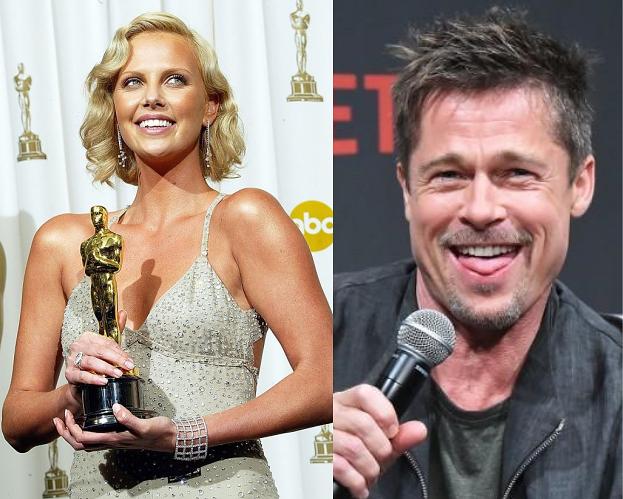 """Charlize Theron i Brad Pitt rzeczywiście SĄ PARĄ? """"Przytulali się cały wieczór, wyglądali na szczęśliwych"""""""
