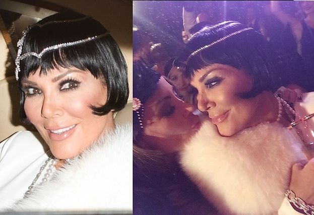 """Kris Jenner świętowała urodziny w stylu """"Wielkiego Gatsby'ego""""! (ZDJĘCIA)"""