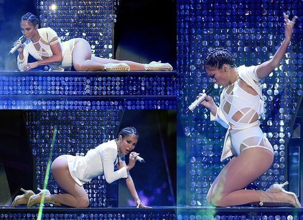 46-letnia (!) Jennifer Lopez w obcisłym body... (ZDJĘCIA)