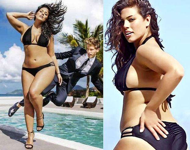 """Magazyn """"Sports Illustrated"""" opublikował pierwszą reklamę z """"modelką plus size""""! Seksowna?"""