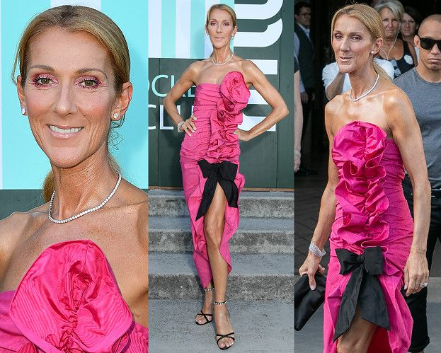 51-letnia Celine Dion odsłania wysportowane ramiona na pokazie w Paryżu (ZDJĘCIA)