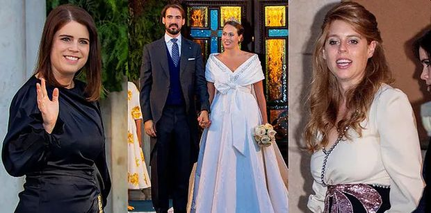 Bajkowy ślub księcia Grecji i córki szwajcarskiego miliardera. Wśród gości księżniczki Beatrycze i Eugenia (ZDJĘCIA)
