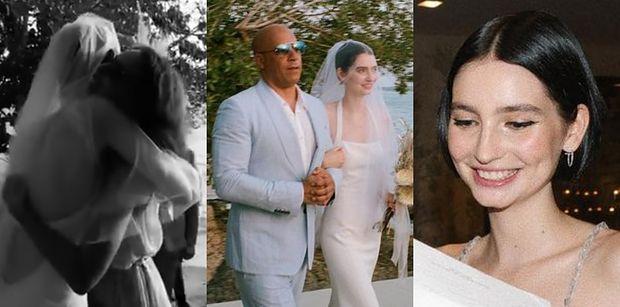 Córka Paula Walkera WYSZŁA ZA MĄŻ! Do ołtarza prowadził ją Vin Diesel (ZDJĘCIA)