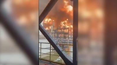 Pożar w kluczowej rafinerii ropy w Kuwejcie. Nagranie świadków