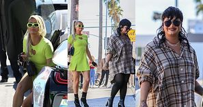 Demi Lovato i Paris Hilton jadą na zakupy holograficznym BMW za 165 TYSIĘCY DOLARÓW (ZDJĘCIA)