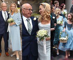 Najbogatszy magnat medialny, 85-letni Rupert Murdoch, poślubił byłą modelkę (ZDJĘCIA)