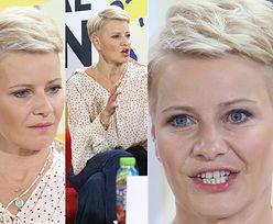 Świeżo ostrzyżona Kożuchowska bierze udział w festiwalu filmowym (ZDJĘCIA)