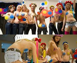Rozebrane ukraińskie feministki! (SEKSOWNE?)
