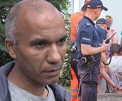 """Policjanci zwyzywali ratownika, który chciał pomóc mężczyźnie na ulicy: """"SPIER*ALAJ, CZARNUCHU!"""""""