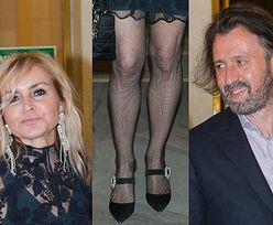 Odsłonięte nogi Olejnik i jej partner poszli razem oglądać balet (FOTO)