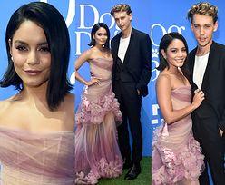 Wystrojona Vanessa Hudgens chwali się chłopakiem na premierze