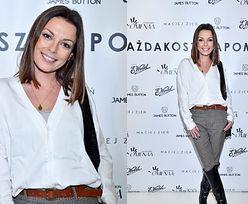 Ciężarna Katarzyna Glinka promienieje na salonach (FOTO)