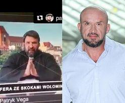 """Tomasz Oświeciński o swojej roli u Patryka Vegi: """"Gram nawiedzonego księdza-fanatyka"""""""