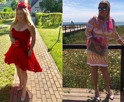 """Katarzyna Niezgoda prowokuje na Instagramie odważną kreacją: """"Lady in red"""""""