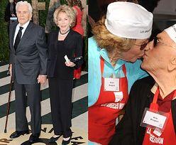 """Żona 100-letniego Kirka Douglasa: """"To nierealistyczne, aby wymagać w małżeństwie pełnej wierności"""""""