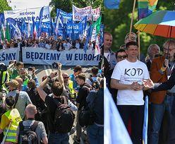 Tak wyglądał marsz KOD-u w Warszawie!
