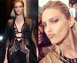Anja na pokazie Gucci w Mediolanie!