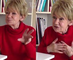 """Maria Czubaszek: """"Nie boję się śmierci. Proszę mi życzyć, żebym umarła szybko i bezboleśnie"""""""
