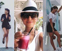 """Lewandowska """"ładuje się pozytywną energią"""" na wakacjach z Klarą i torebką za 5 tysięcy (FOTO)"""