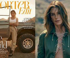 Natchniona Cindy Crawford pozuje w stylizacjach na safari