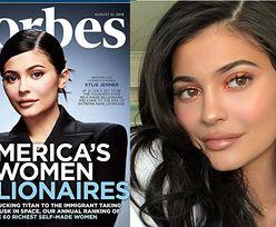Kylie Jenner pozuje na okładce Forbesa jako NAJMŁODSZA MILIARDERKA (FOTO)