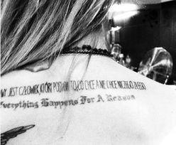 NOWY tatuaż Sablewskiej!