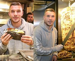 Lukas Podolski SPRZEDAJE KEBABY w Kolonii. Kolejka chętnych zablokowała ulicę! (ZDJĘCIA)