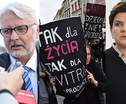 """Szydło krytykuje Waszczykowskiego: """"Wezwałam dziś pana ministra. Nie aprobuję takich wypowiedzi"""""""