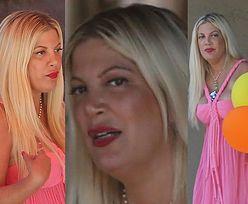 Różowa Tori Spelling z balonami świętuje 45. urodziny (ZDJĘCIA)