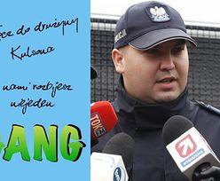 """Polska policja zachęca: """"Dołącz do drużyny Kulsona""""... (FOTO)"""