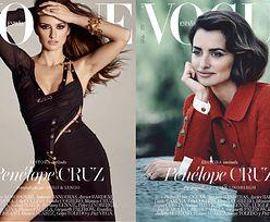 """Penelope Cruz w dwóch sesjach dla hiszpańskiego """"Vogue'a"""""""