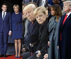 Macron potępia nacjonalizm w towarzystwie Merkel, Trumpa i Putina (FOTO)