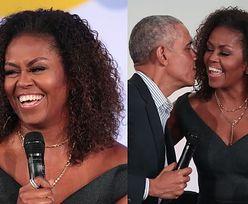 """Michelle Obama w naturalnie kręconych włosach. Internauci zachwyceni: """"Piękna na zewnątrz i w środku"""" (FOTO)"""