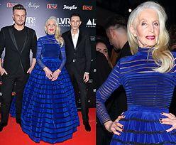 81-letnia Helena Norowicz w niebieskiej sukni (ZDJĘCIA)