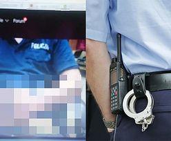 Skandal w Policji: Funkcjonariusz ONANIZOWAŁ SIĘ na służbie i transmitował to w Internecie