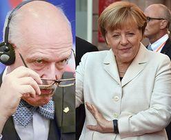 Korwin-Mikke uwierzył w żart o... syryjskim kochanku Angeli Merkel!