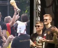 Niemcy tańczą prezentując Puchar Mistrzów!