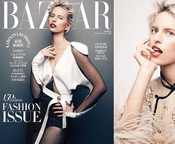 """Karolina Kurkova przygryza palec w """"Harper's Bazaar"""""""