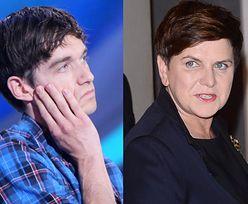 """Łukasz z """"Big Brothera"""" krytykuje Beatę Szydło: """"MARIONETKA, która recytowała napisany tekst"""""""
