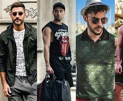 Najciekawsze koszulki męskie - z czym je łączą celebryci?