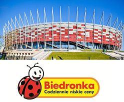 Stadion Narodowy zmieni nazwę na... BIEDRONKA ARENA?