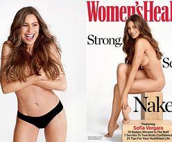 """Sofia Vergara NAGO na okładce """"Women's Health""""! """"Mam 45 lat i nie jestem idealna"""" (ZDJĘCIA)"""