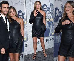 Jennifer Aniston bez stanika z mężem na premierze